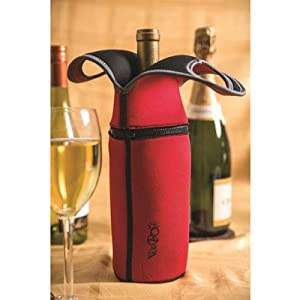 Portable wine cooler color red - Amazon porta vino ...