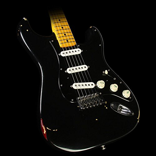 Fender Custom Shop Custom Shop David Gilmour Signature Stratocaster Electric Guitar Relic Black (Fender Custom Shop compare prices)