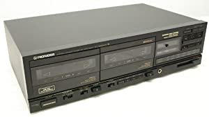Pioneer CT-1280WR Stereo Double Cassette Tape Deck