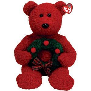 TY Beanie Buddies 2006 Holiday Teddy