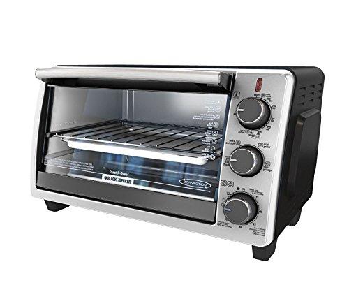 Black & Decker To1950Sbd 6-Slice Toaster Oven, Black