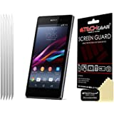 Techgear Matte/Anti Glare LCD Screen Protector for Sony Xperia Z1 (Pack of 5)