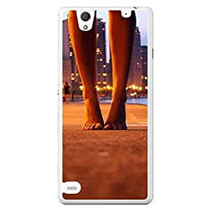 a AND b Designer Printed Mobile Back Cover / Back Case For Sony Xperia C4 (SONY_C4_2260)