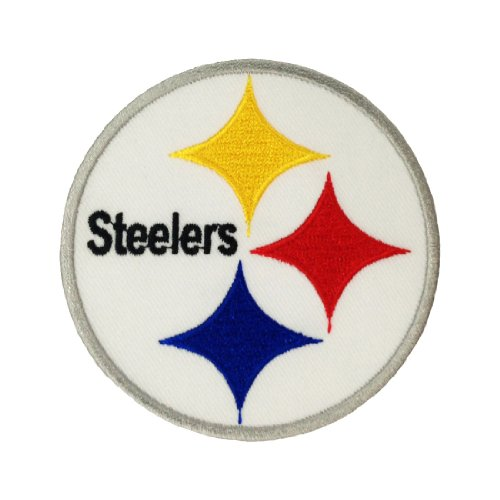 Pittsburgh Steelers Logo Embroidered Iron Patches at Amazon.com