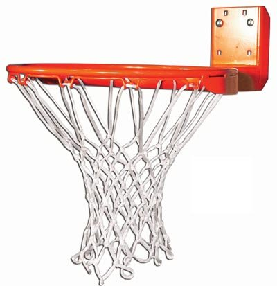 Gared 66T Institutional Rear Mount Basketball Goal