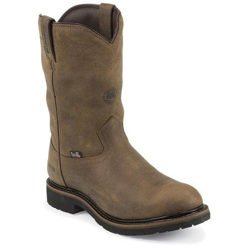 Justin Men's Wyoming Insulated Waterproof Work Boot Steel Toe