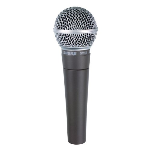 Shure SM58-LC Cardioid Vocal Microphone out Cable
