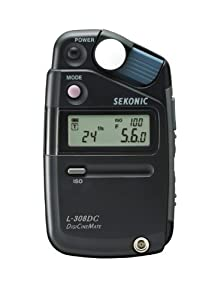 Sekonic DigiCineMate L-308DC Photographic Light Meter (Black)