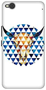 The Racoon Grip printed designer hard back mobile phone case cover for HTC One X9. (Taurus)