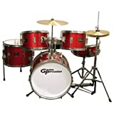 Groove Percussion JR200 5 Piece Children's Drum Set with