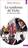 img - for Le syndrome De Vichy, de 1944 a Nos Jours (French Edition) book / textbook / text book