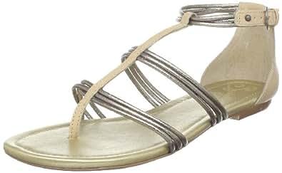 Seychelles Women's Collection T-Strap Sandal,Pewter,9 M US