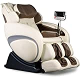 Osaki OS-4000 Cream Zero Gravity Shiatsu Massage Chair with 200 Dollar Coupon