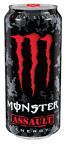 Monster Energy, Assault, 16 Ounce (Pack of 24) (Red Monster compare prices)