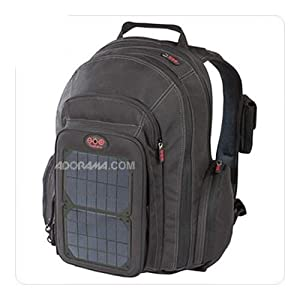 OffGrid Solar Backpack Color: Charcoal Panels