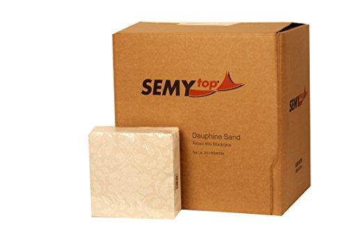 Semy tovagliolo airlaid, Dauphine, 40x40 cm, 1/4 volte, 1er Pack (1 confezione da 50 pezzi)