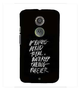 Fuson Premium Printed Hard Plastic Back Case Cover for Motorola Moto X 2nd Gen