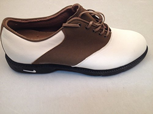 Nike Women's Air Classic Golf Shoes White/Khaki, Size 11