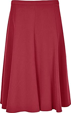 womens skirt 26 inches length plain just below knee