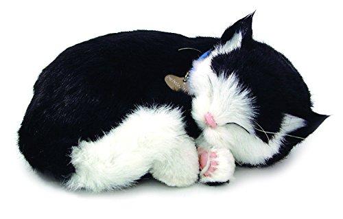 Perfect Petzzz B&W Shorthair Kitten Plush