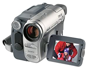 Sony DCR-TRV460 20x Optical Zoom 990x Digital Zoom Hi8 Camcorder
