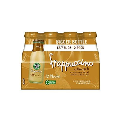 Starbucks Frappuccino Coffee Drink, Mocha (13.7 oz. bottles, 12 ct.)