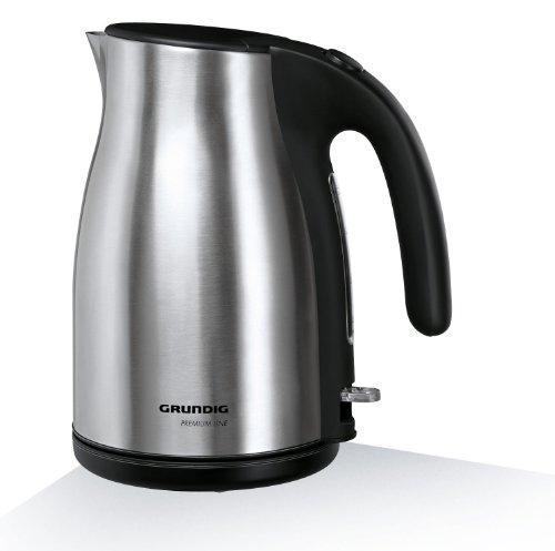 WK 5260 Premium-Wasserkocher (3000 Watt, 1,7 l), schwarz-silber