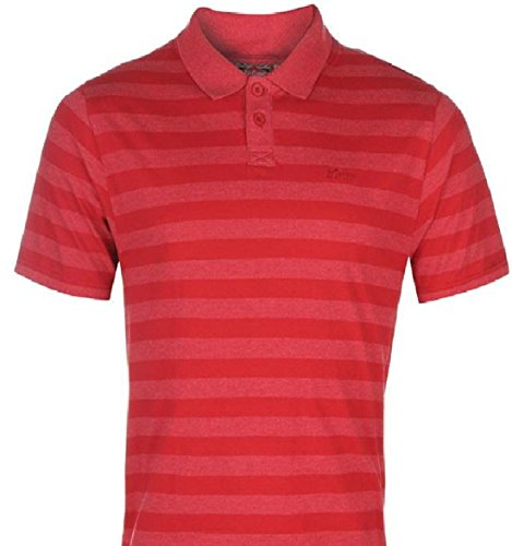 Lee Cooper -  Polo  - Uomo Vintage Red Small