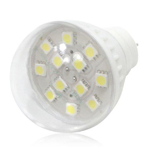 Wholesale 5050 Smd Led Bulb Dc/Ac 12V 2W 12Pcs Lamp Transparent Plastic Cover Mr16
