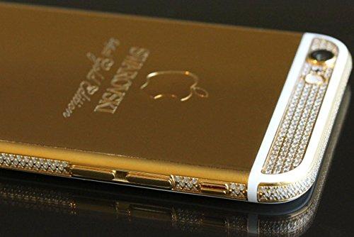 swarovski iphone 6 plus 24ct gold unlocked cellphone. Black Bedroom Furniture Sets. Home Design Ideas