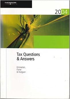 Tax quiz 1 answers