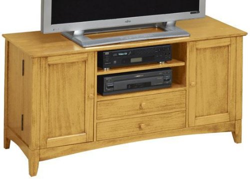 Cheap Hawthorne Wide screen Tv Stand With Media Storage Doors (B001BU2S4E)