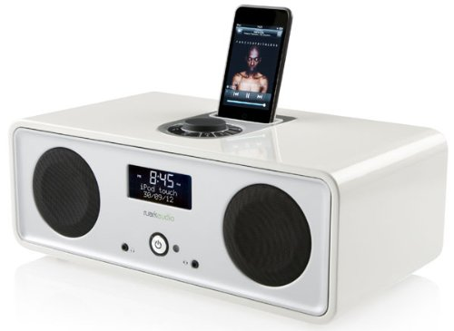 Ruark Audio R2i DAB/FM Ipod Dock Radio Dream Gloss White