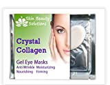 5 Pck -COLLAGEN EYE MASK - DARK CIRCLES, BAGS, WRINKLES-Crystal Collagen Anti-Aging Eye Mask- Banish Bags, Dark Cricles, and Puffiness