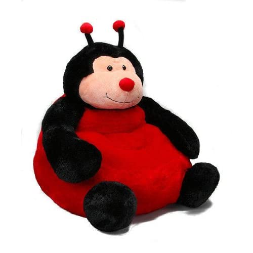 Amazon.com - Kellytoy Ladybug Plush Chair - Childrens Chairs