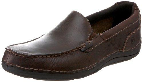 Rockport Men's Ttw Gore Slip-On,Dark Brown,10 M US