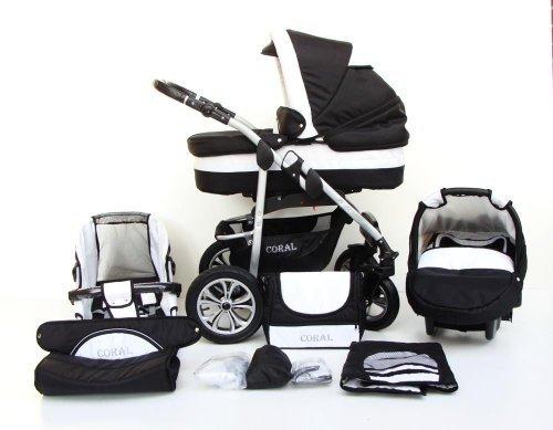 kombi kinderwagen 3 in 1 3 in 1 kombikinderwagen. Black Bedroom Furniture Sets. Home Design Ideas
