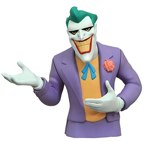 Diamond Select Toys Batman The Animated Series: The Joker Vinyl Bust Bank Statue