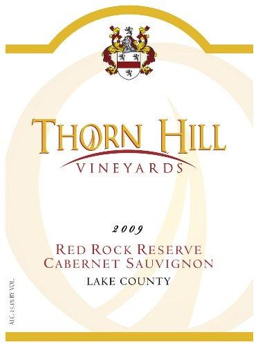 2009 Thorn Hill Vineyards Red Rock Reserve Cabernet Sauvignon 750 Ml