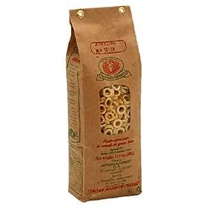 Rustichella Anellini Pasta, 17.5-Ounce Bags (Pack of 4)