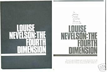 Louise Nevelson The Four Dimension Famous Artist Signed Autograph Book - Signed Documents