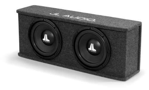 "Jl Audio Cs210-Wxv2: Dual 10"" 10Wxv2 Sealed Basswedge Subwoofer Enclosure - 2-Ohm"