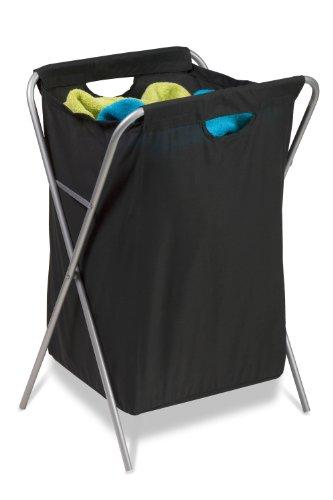 Honey-Can-Do HMP-01635 Fold Up Nylon Hamper, Clothing Organizer