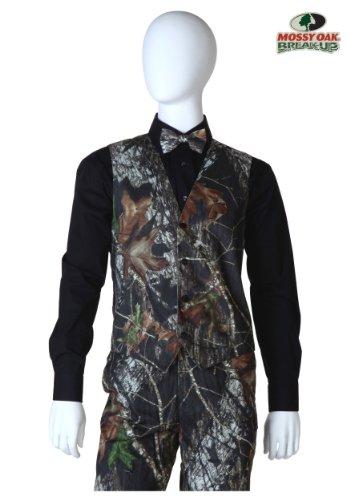 [Mossy Oak Tuxedo Vest Large] (Mossy Oak Tuxedo Adult Costumes)
