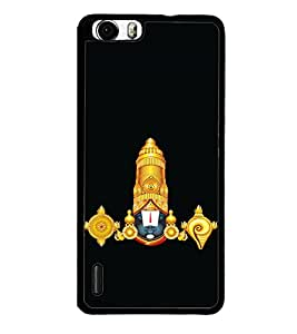 printtech Lord God Balaji Back Case Cover for Huawei Honor 6 Plus