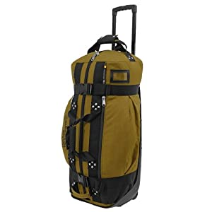 Club Glove Rolling Duffle II Bag : Khaki by Club Glove