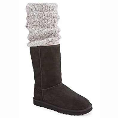 UGG Australia Tularosa Route Detachable Black Multi Womens Boot (5)