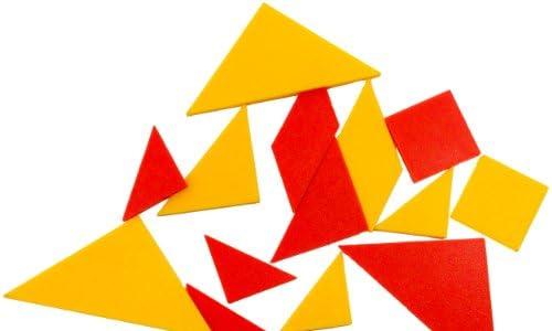 タングラム 2色セット 幾何学パズル 【並行輸入品】
