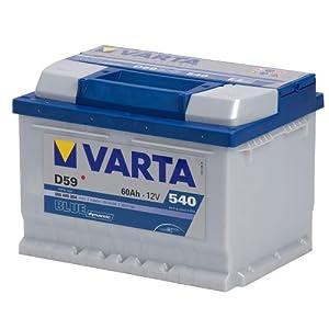 Autobatterie VARTA Blue Dynamic D59 5604090543 60Ah 540A from VARTA