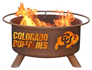 Patina Products F223, 30 Inch University of Colorado Fire Pit by Patina